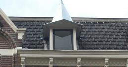 Zinken dak in Oost Middelburg